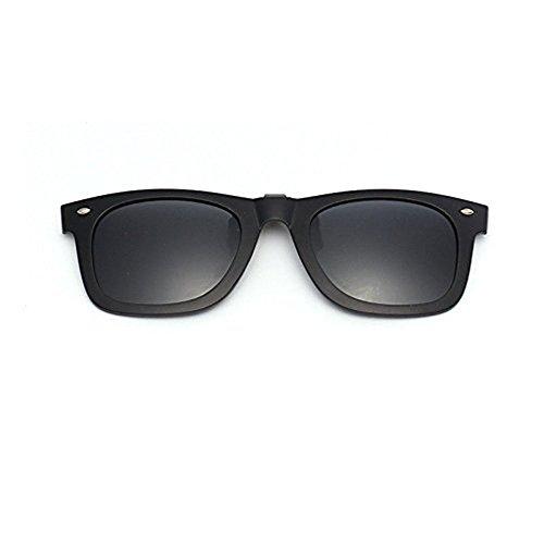 23b43e45e9 Gafas de sol de plástico con lentes de espejo polarizadas