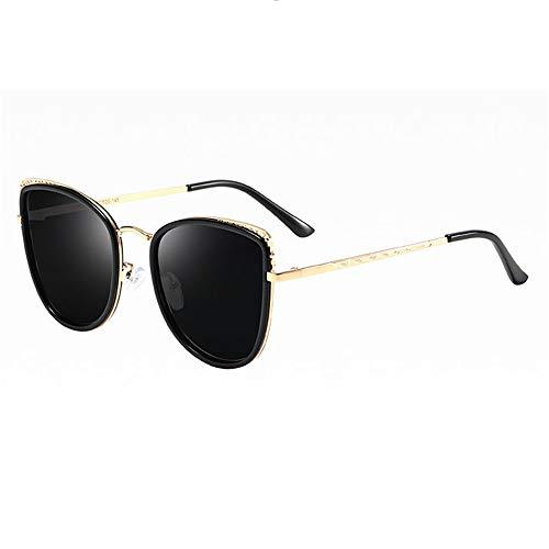 LEIAZ Polarisierte Sonnenbrille, Katze Brillengestell Fashion-Brille Anti-Uv Geeignet Für Reisen Im Freien