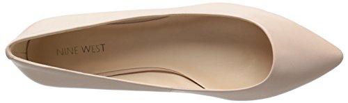 Nine West Onlee Leather Ballet Flat Pale Pink