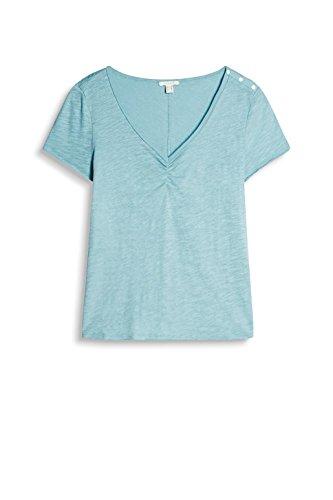 Esprit 037ee1k016, T-Shirt Femme Vert (Light Aqua Green)