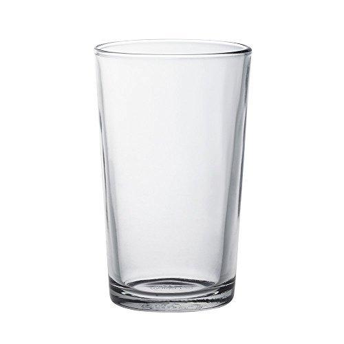 Duralex Chope Unie Wasserglas 330ml, ohne Füllstrich, 6 Stück