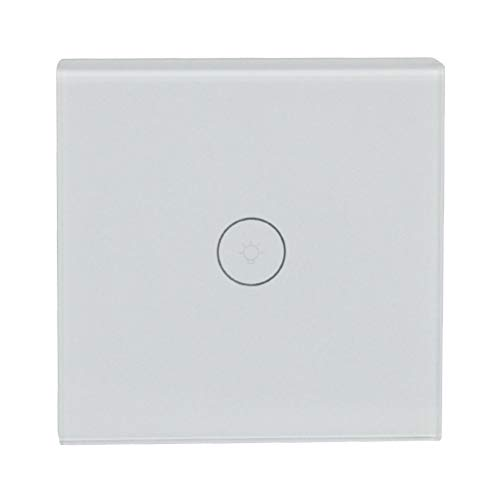 EU Standard Wifi Touch-Schalter für Alexa Home Office Touch/Voice / APP-Steuerung Smart Dimmer Switch (Dimmer Lichtschalter Installieren)