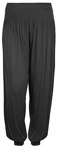 Donne Ali Baba Pantaloni Harem Donna pantaloni larghi Alibaba pantaloni Leggings Taglia S/M/L dark grey pants