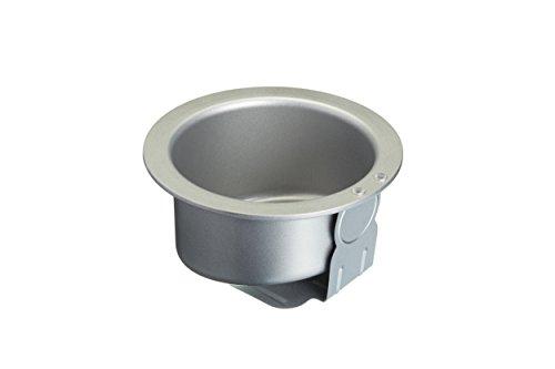 Non-stick Steel Pan Torte (Kitchen Craft Kuchenform Sweetly Does It Topsy Turvy 15,5cm in Silber, Aluminium, 12 x 17 x 22 cm)