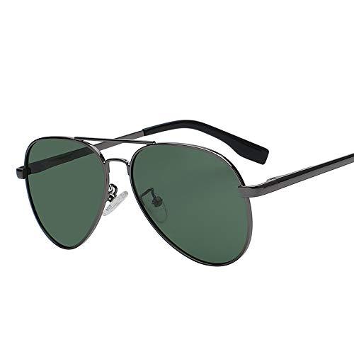 Zbertx Top Qualität Unisex Männer Frauen Designer Fashion Pilot Sonnenbrille Sonnenbrille Uv400,Gun W G15 P Lens