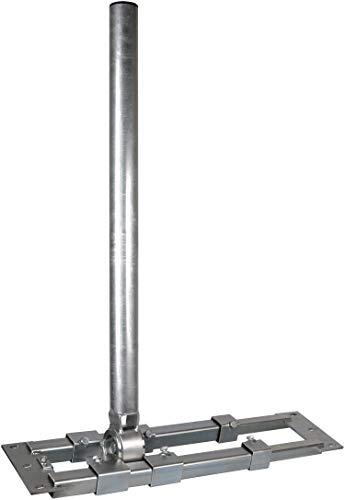 Dachsparrenhalter - DUR-line Herkules XXL S60-900 - Der Stärkste! - über 1300Nm - Breite:55- 90cm, Masthöhe:90cm, Ø:60mm, feuerverzinkt, Kabeldurchführung