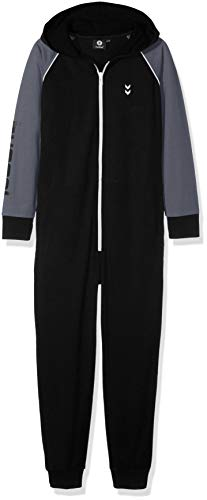 Hummel Jungen HMLMILO Jumpsuit Black 122/128