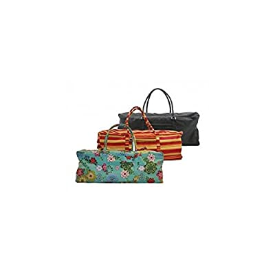 Yoga kit bag, Flower power