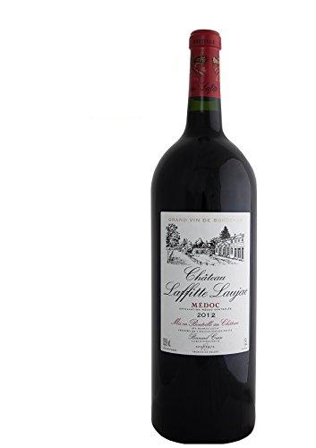 MAGNUM - CHATEAU LAFFITTE LAUJAC - 2012 - Grand Vin Rouge de Bordeaux Médoc - AOP Médoc 2012 - Crus Bourgeois en 1932-1.5L