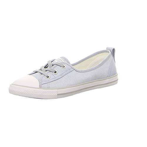 Lace Slip Sneaker (Converse Chuck Taylor All Star Ballet Lace Slip Sneaker Damen 6 US - 37 EU)