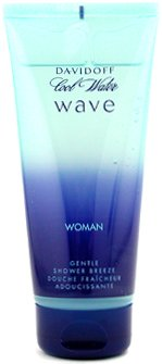 Davidoff Cool Water Wave Woman Gentle Shower Breeze 200ml, 1er Pack (1 x 1 Stück)
