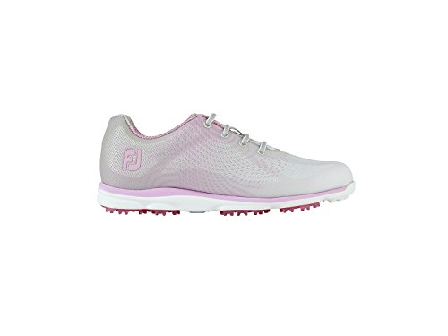 Footjoy Damen Empower Golfschuhe, Silber, 40.5 EU (Footjoy Shop Schuhe)