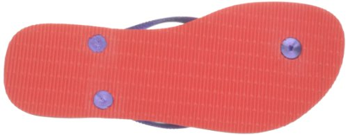 Havaianas Infradito Donna Slim Logo Multicolore (Salmon 1256)