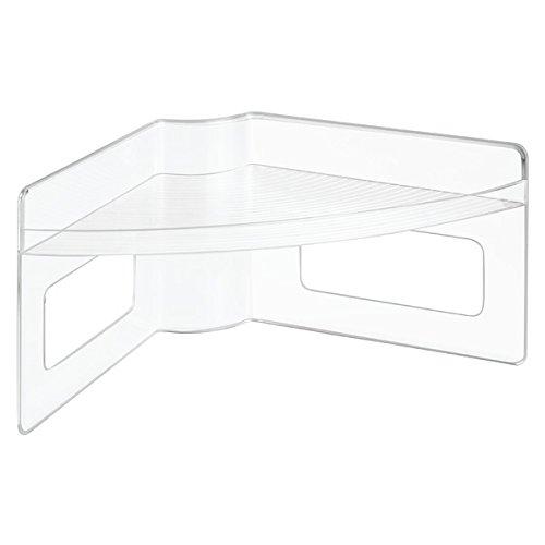 InterDesign 62650EU Lazy Susan Organizer für Küchenschränke - durchsichtig, Plastik, clear, 45.0088 x 22.352 x 20.32 cm (Lazy Susan Küchenschränke)