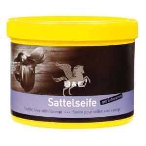 B & E SAVON pour selle avec éponge - 500 ml
