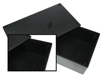 Velleman WCAH2852 - Caja (Negro, De plástico, 200 mm, 110 mm, 65 mm)