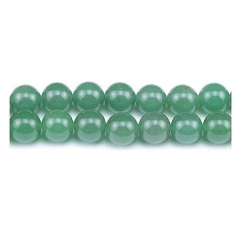 Strang 60+ Grün Aventurin 6mm Rund Perlen - (GS1628-2) - Charming Beads