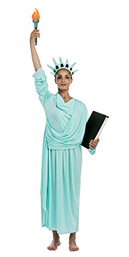 P 'Tit Clown – 27750 – Statue Of Liberty Erwachsenen-Kostüm – One Size (Statue Liberty Kostüme)
