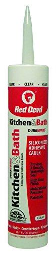 Red Devil 0408 Küche & Siliconized Kalk, Acryl, transparent, 10,1 ml
