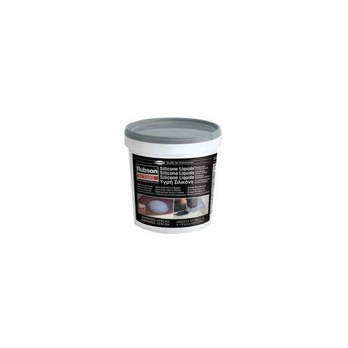 henkel 1139769 SL3000 Rubson, Silicone Liquido, 1 Kg, Grigio Gris y blanco