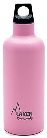 Laken Futura TE5–Bouteille isotherme pour liquides (0,5L, acier inoxydable), rosa