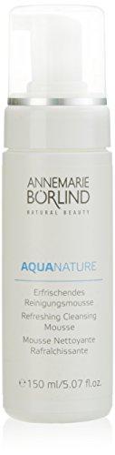 Annemarie Börlind Aquanature femme/woman, Reinigungsmousse, 1er Pack (1 x 150 ml) -