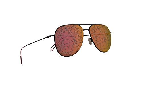 Dior Christian Homme Dior0205S Sonnenbrille Schwarz Mit Pinken Gläsern 59mm 3MR01 0205S Dior0205/S 0205/S