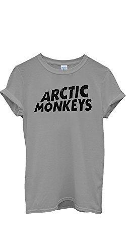Arctic Monkeys T-shirt Rock Band New Men Women Unisex Top T Shirt-L (Herren-rock-band)
