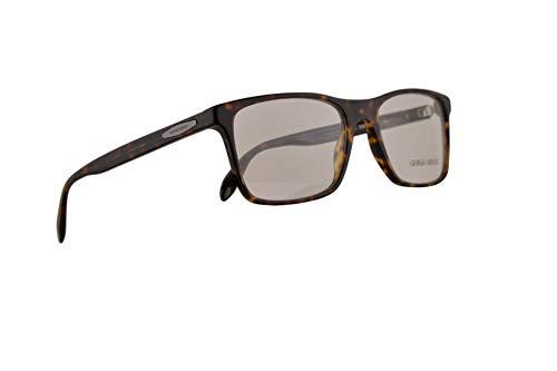 Giorgio Armani AR7163 Brillen 53-18-145 Dunkel Havana Mit Demonstrationsgläsern 5026 AR 7163