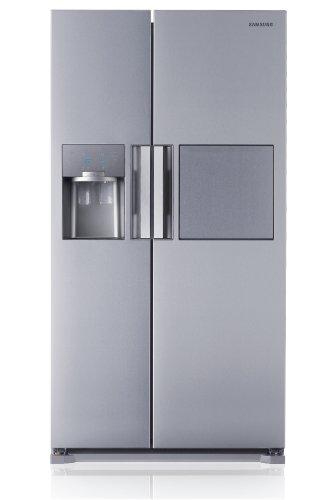 Tür Samsung Kühlschrank Griff (Samsung RS7778FHCSL Freistehend 543l A++ Edelstahl Side-by-Side Kühlkombination, RS7778FHCSL/EF)