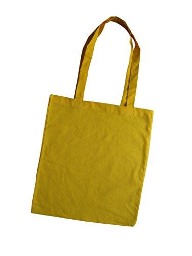 Jutebeutel bedruckt mit lustigem Spruch / Stoffbeutel / Jute Beutel Schnauze voll ich geh jetzt zaubern / Einkaufsbeutel Baumwolle mit Sprüchen von 3 Elfen - Statement Tasche - schwarz gelb