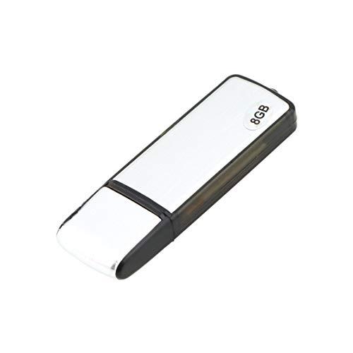 Nuovo 2 in 1 8GB Digital Audio Voice Recorder Pen USB Flash Memory Drive Disk Built-in 100mA-3.7V batteria al litio ricaricabile