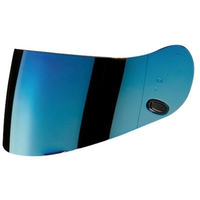 Cs 10 (HJC AC-12/CL-SP/CL-15/CL-16/FS-10/IS-16/CS-R1/CS-R2 Motorcycle Helmet Replacement Faceshield Mirror-Coated Blue by HJC Helmets)