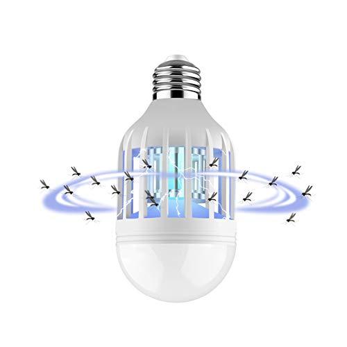 GLXQIJ 2 in 1 Moskito-Mörder-Lampen-LED-Birnen-15W Schädlingsbekämpfungs-Glühlampe für Hauptschlafzimmer,3Pack -