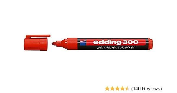 edding 400 1 mm rot 10er-Sparpack Permanentmarker nachfüllbar