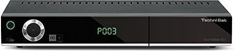TechniStar S1+ (HDTV Satreceiver inkl. HD+ Karte, digitale Videorekorderfunktion) schwarz