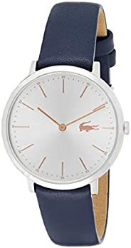 Lacoste Womens Quartz Watch, Analog Display and Leather Strap 2000986