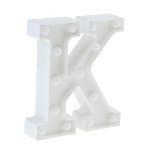 SM SunniMix DIY Buchstaben LED Lichtbox Leuchtkasten Leuchtschild - K