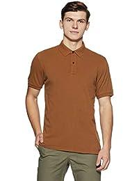 Indian Terrain Men's Solid Regular Fit T-Shirt