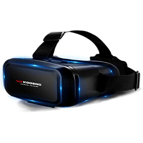 LJ2 VR Headset, 1080P Universal Virtual-Reality-Brillen mit Soft & Comfortable Neuer 3D-VR-Brille für 4,7 Zoll - 6,9 Zoll-IOS/Android Phone