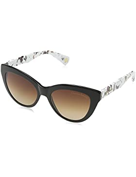 Christian Lacroix - Gafas de sol Ojos de gato CL5049 001 para mujer, Black/Multi/ Grey Lens