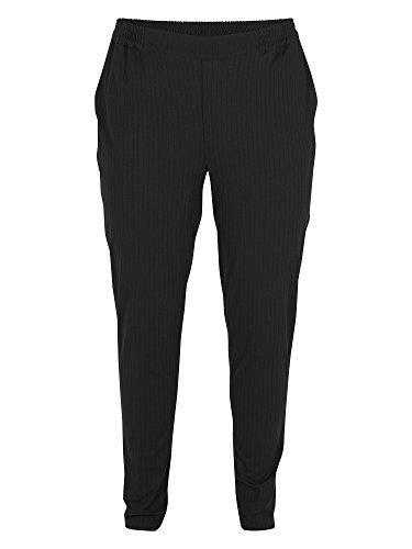 Zizzi Damen Hose große Größen Schwarz