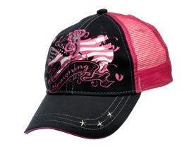 Browning Black Hat (Browning For Her Liberty Cap, Black/Fuchsia)