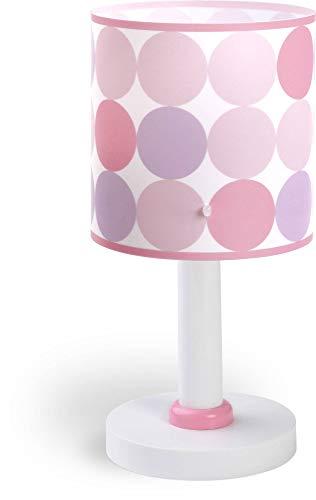 Dalber Colors Lámpara sobremesa, Rosa