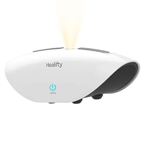 HEALIFTY Weißes Rauschen Maschine - Einschlafhilfen mit 15 Beruhigender Geräuschen 3 Timer, Schlafen White noise machine Hypnotische Einschlafhilfen für Baby Erwachsene