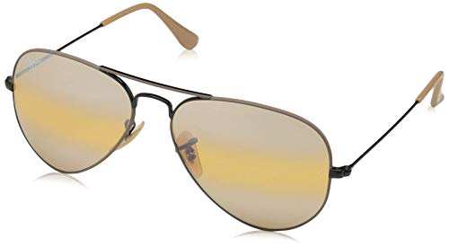 Ray-Ban Herren RB3025-9153AG-58 Sonnenbrille, Beige/Negro, 58