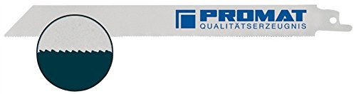 Preisvergleich Produktbild Säbelsägeblatt L.180mm Bi 18Z./Zoll flex. PROMAT 5St./VE