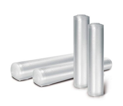 Vakuumfolienrollen für Lebensmittel–20cm x 6m Rolle von SousVideTools (Food Saver Roll-taschen)