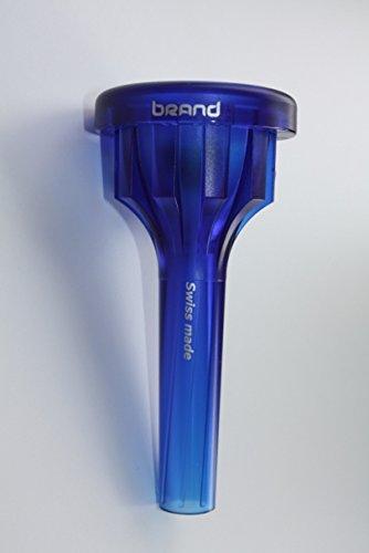 Brand Mundstücke Deep S3 blau Turboblow - für Tuba, mit Turbobore