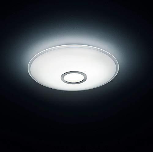 Helestra LED Deckenleuchte Nuno Mattnickel IP20 | LEDs fest verbaut 35W 3100lm warmweiß | 15/1510.06/5163